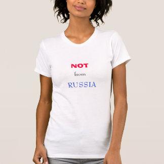 NIET van het overhemd van RUSLAND T Shirt