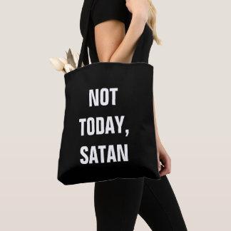 Niet vandaag Satan Draagtas