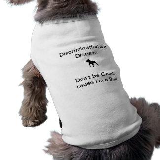Niet Wreed ben, oorzaak ik een Stier - de Tanktop  Mouwloos Hondenshirt