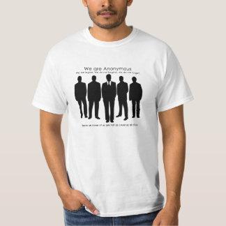 Niet zo Anon Anoniem T-shirt