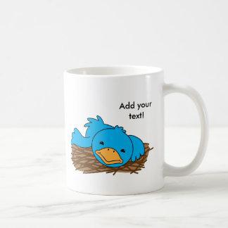 Niet zo Vroege vogel Koffiemok