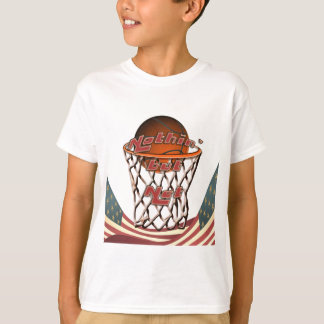 Niets dan Netto Basketbal in Hoepel T Shirt