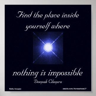 Niets is Onmogelijk - poster