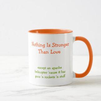 Niets is Sterker dan houdt Koffie van het Citaat Mok