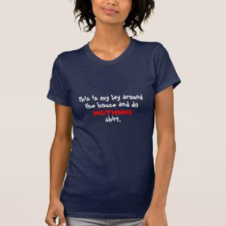 Niets Overhemd T Shirt