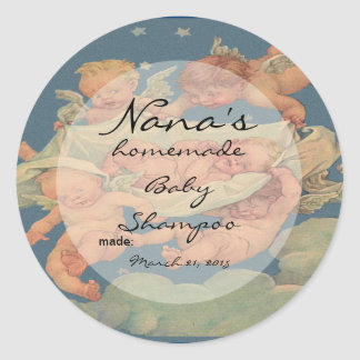 Nieuw Baby die dekseldekking voor 2.5 duimdeksel Ronde Sticker