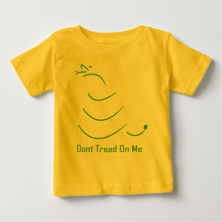 NIEUW betreed op me geen BABY! Baby T Shirts
