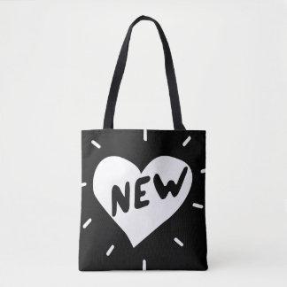 Nieuw Hart/Douane helemaal over - het Canvas tas