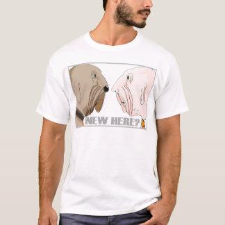 Nieuw hier? t shirt