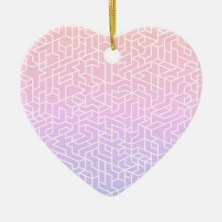 Nieuw in winkel: De modieuze acrylvorm van het Keramisch Hart Ornament