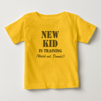Nieuw Kind in Opleiding Donnie - Kinder T-shirt