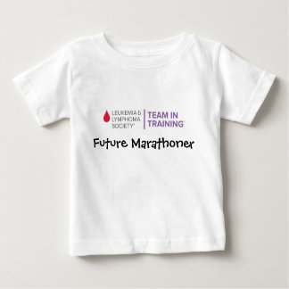 Nieuw logo toekomstige marathoner-TNT Baby T Shirts