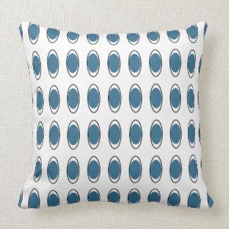 Nieuw-modern-pauw-blauw-lumbale & Vierkante Kussen