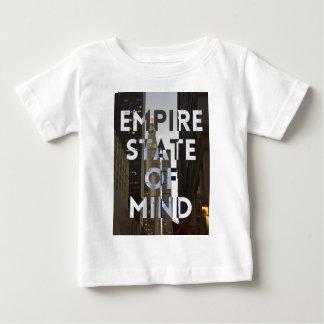 nieuw-York-stad-imperium-staat-van mening Baby T Shirts