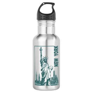 Nieuw York-Standbeeld van Vrijheid Waterfles