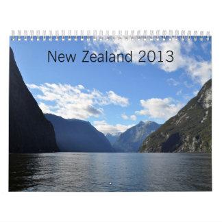 Nieuw Zeeland 2013 Kalender
