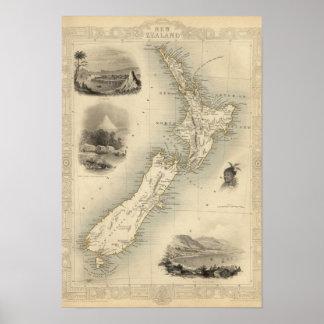 Nieuw Zeeland 3 Poster