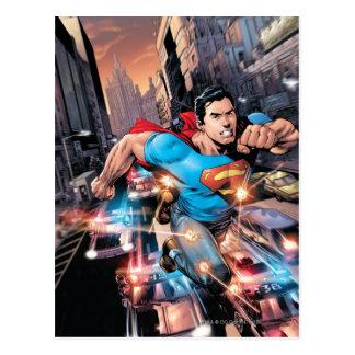 Nieuwe 52 - Superman #1 2 Briefkaart