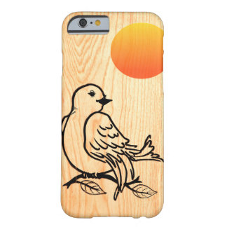 Nieuwe Dawn op hout Barely There iPhone 6 Hoesje