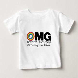 nieuwe dubbele regenboogt-shirt omg wat het tshirts