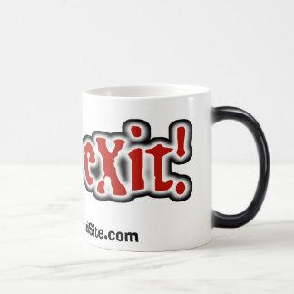 nieuwe exitlogomok, www.eXitBandSite… Magische Mok