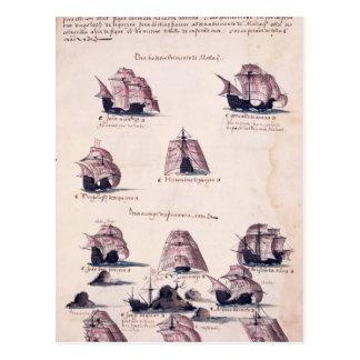 Nieuwe Expeditie aan India Briefkaart
