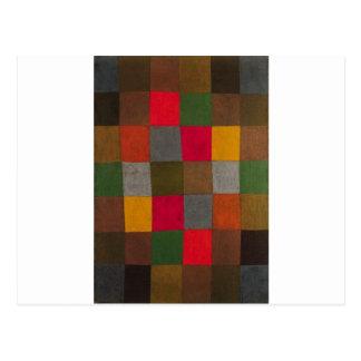 Nieuwe Harmonie door Paul Klee Briefkaart