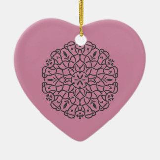 Nieuwe hart-vorm nieuwe aankomst in Winkel Keramisch Hart Ornament