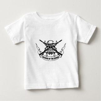 Nieuwe het ontwerpwijnoogst van de MILITAIR Baby T Shirts