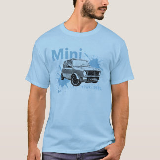 Nieuwe Klassieke MiniClubman Mannen T-shirt