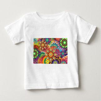 Nieuwe Kleurrijke Abstracte Achtergrond Baby T Shirts