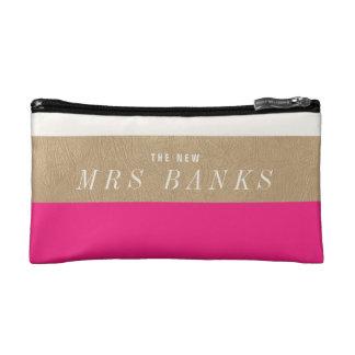 Nieuwe Mevr. Hot Pink Make-up Bag