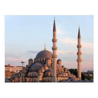Nieuwe Moskee in Istanboel Briefkaart