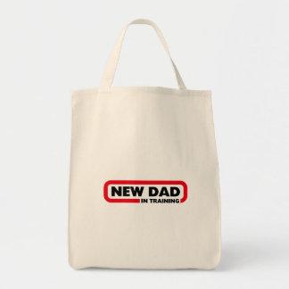 Nieuwe Papa in Opleiding Boodschappen Draagtas