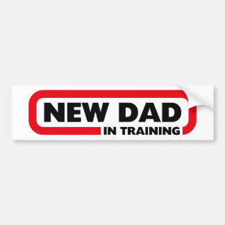 Nieuwe Papa in Opleiding - de Grappige Sticker van
