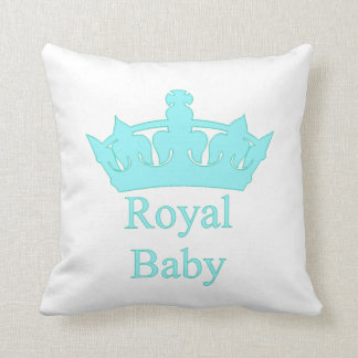 Nieuwe Prins - een koninklijk baby! Sierkussen