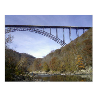 Nieuwe Rivier George Bridge Briefkaart