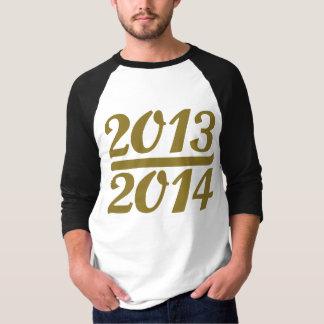 Nieuwjaar 2013 2014 t shirt