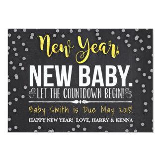 Nieuwjaar, de Nieuwe Aankondiging van de