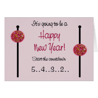 Nieuwjaarskaart/de Aankondiging van de