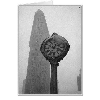 Nieuwjaren van New York Wenskaart