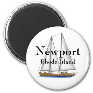 Nieuwpoort Rhode Island Magneet