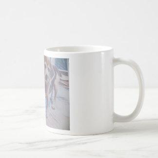 Nieuwsgierige Brak Koffiemok