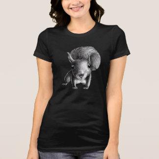 Nieuwsgierige Leuke Eekhoorn T Shirt