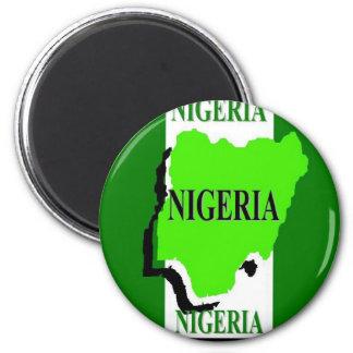Nigeria Koelkast Magneet
