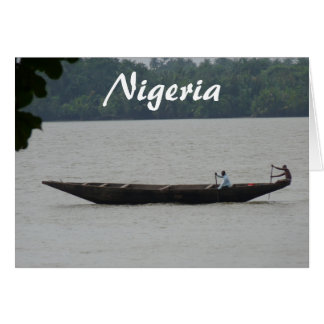 Nigeriaanse Boot Briefkaarten 0