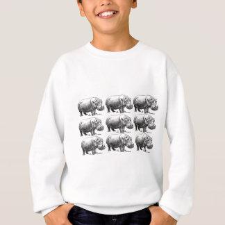 nijlpaard goud trui