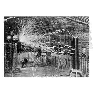 Nikola Tesla, Colorado Springs, 1899 Wenskaart