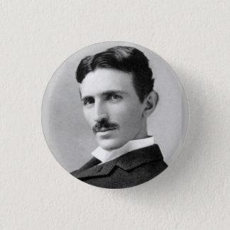 Nikola Tesla Ronde Button 3,2 Cm