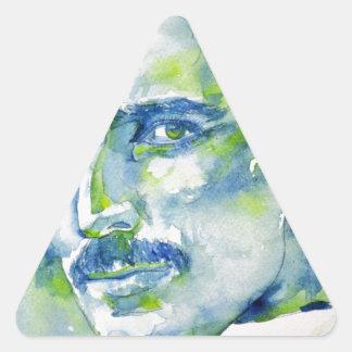 nikola tesla - waterverf portrait.1 stickers